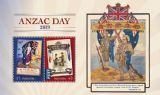 AUS 16/04/2019 Anzac Day 2019 miniature sheet